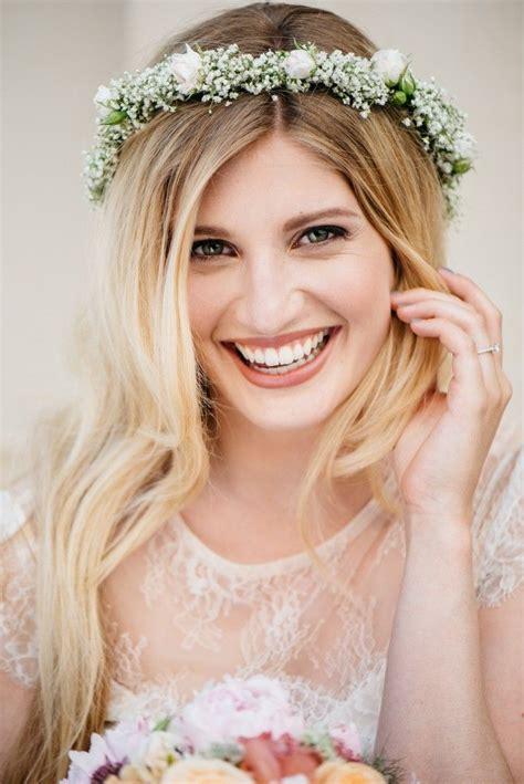 Hochzeitsfrisur Blumenkranz by Die Besten 17 Ideen Zu Retro Haar Auf Retro