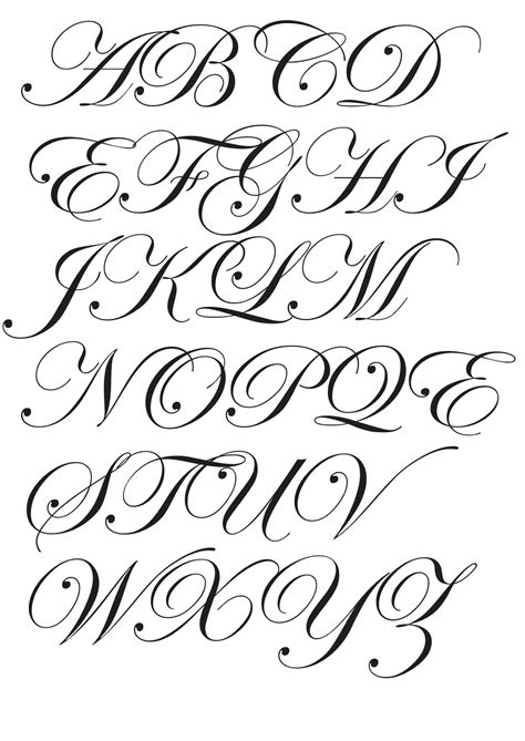 tattoo fonts edwardian script design context the anatomy of type part 4 legibility
