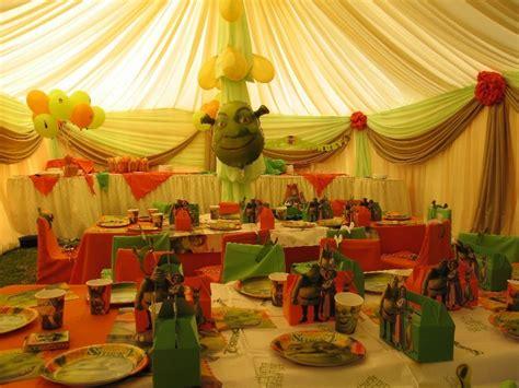 Children S Decorations - shrek interior bday children s world photo