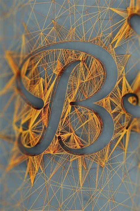 String Typography - string a incr 237 vel t 233 cnica de desenhar linhas