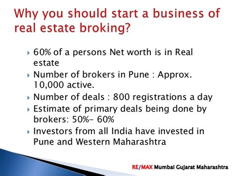 Mba In Real Estate Management In India by Start And Grow Your Real Estate Broking Business