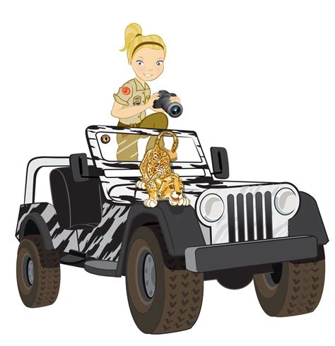 safari jeep clipart my personal research journey snapshots of a child at heart