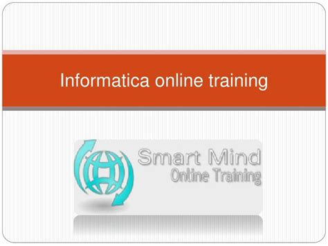 online tutorial for informatica ppt informatica online training online informatica