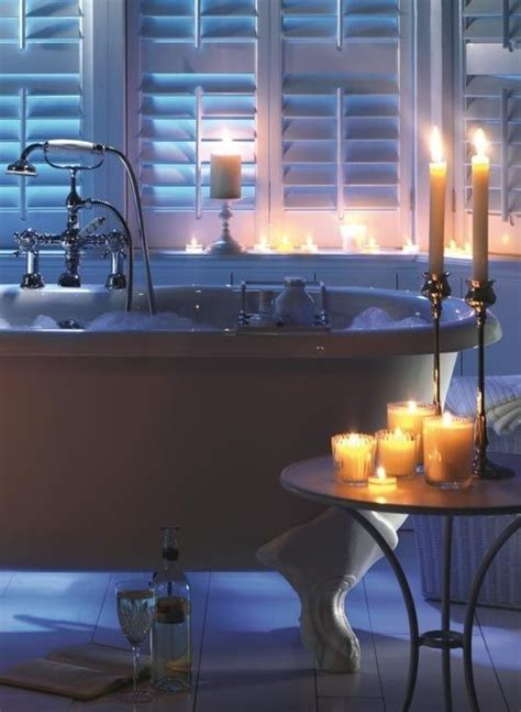 bathtub candles bathroom candles for cozy and romantic atmosphere