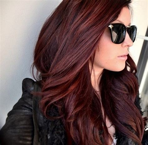 hair powder dark brown hair color with red highlights dark 25 best ideas about red brown hair on pinterest red