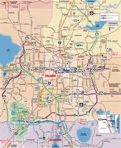 Orlando Highway Map by Orlando Detail Map Bferryhomes Com And 1031orlando Com