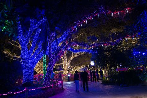 Zoo Light Hours by Houston Zoo Zoo Lights