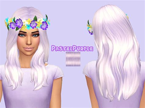 who duse hoda kopys hair pastel hair cc sims 4 jupiter hair at pastel sims via