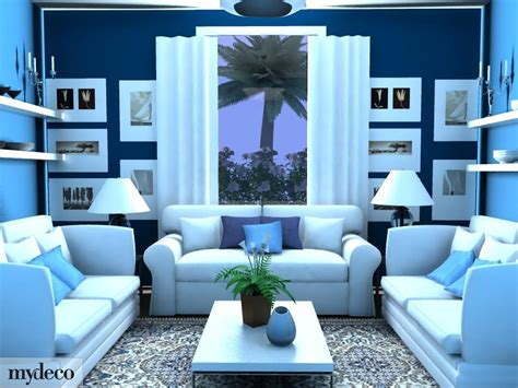 Blue Living Room Decor Interior Design Living Room Blue Amazing Living Room