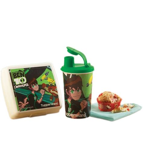 Tupperware Lunch Set tupperware ben 10 lunch set of 2 sandwich keeper and tumbler available at snapdeal for rs 582