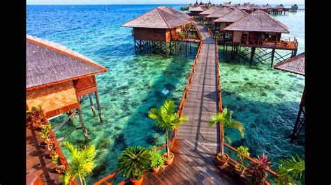 mabul island tourist attractions  malaysia youtube