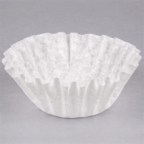Coffee Filter bunn commercial coffee filters 9 3 4 quot x 4 1 4 quot 12 cup bunn 20115 0000 1000