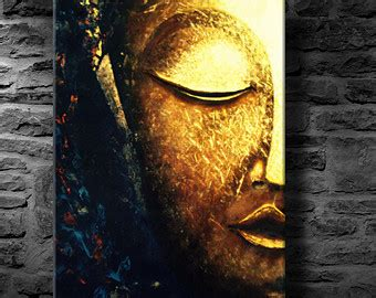 buddha oil painting wall art paintings picture paiting buddha painting etsy
