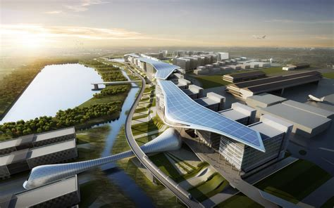 design and build contract in malaysia asia aerospace city by atkins revealed dzn world