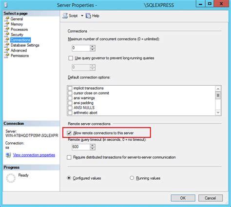 sql server port how to set the custom port for mssql remote access