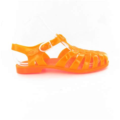 jelly sandals for adults meduse adults sun jelly sandals in orange