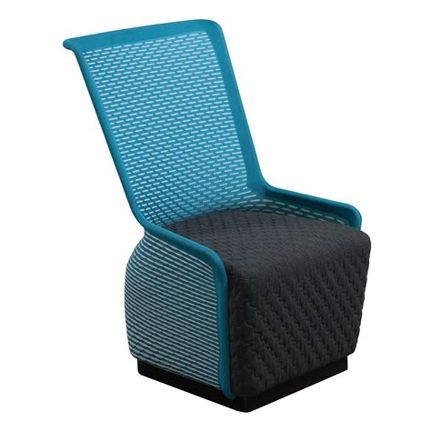 Mesh Lounge Chair Design Ideas Tide Pool By Gosit Modern Mesh Lounge Chair Blue Gray