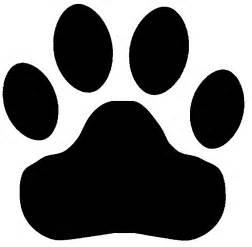 tiger paw print tigers paw print clipart best