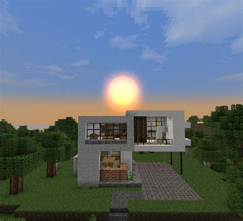 simple minecraft house simple modern house minecraft project