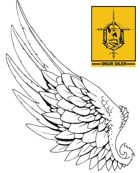 single wing tattoo designs hermes wing design i really like this design