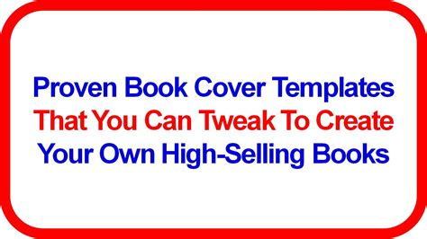 ebook cover templates free ebook cover generator w proven ebook covers free book
