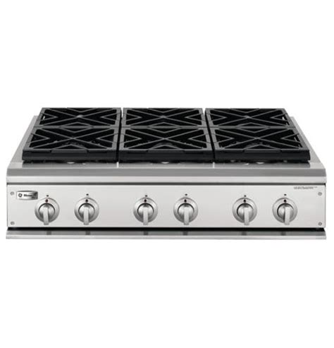 Ge Gas Cooktop Ge Monogram 174 36 Quot Professional Gas Cooktop With 6 Burners
