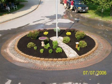 Flagpole Landscaping Ideas Flag Pole Landscaping Flag Pole Pinterest