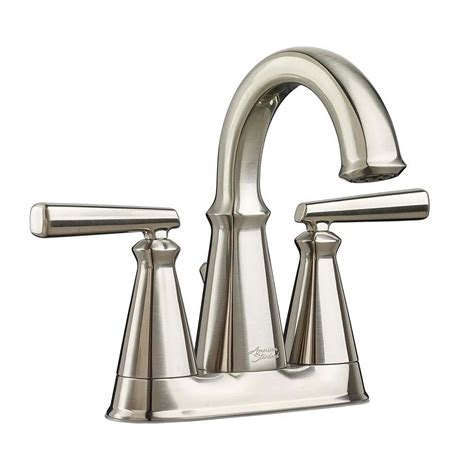 bathtub faucet with shower connection american standard edgemere 4 in centerset 2 handle