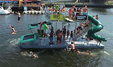 tarzan boat lake martin rockaway water park in groupon