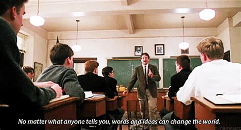 education tumblr dead poets society quote