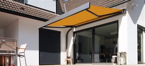 Markilux Awning by Markilux 3300 Pur Retractable Cassette Awning Markilux America