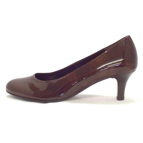 kitten heel shoes gabor shoes vesta womens kitten heel court shoe in brown
