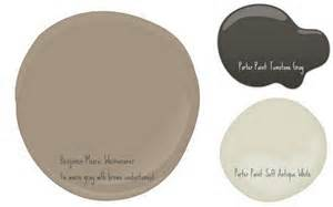 the colors i want to use on our brick house bm