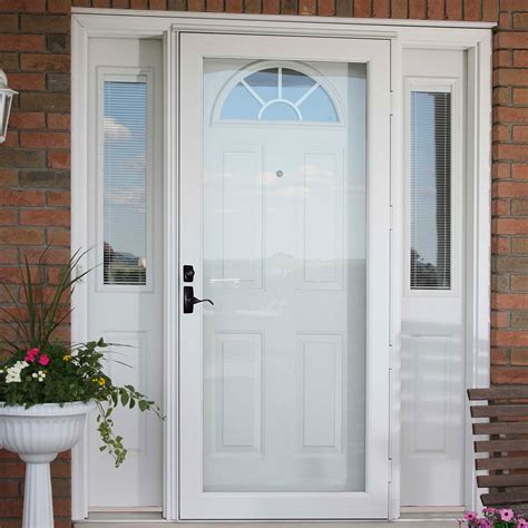 window srorm door residential entry doors windowfix