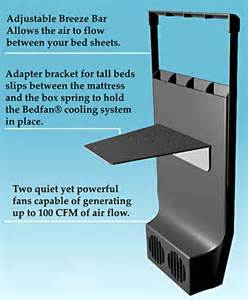bed fan cooling system the clever bedfan gadget that blasts out a to