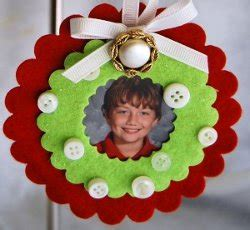 photo ornament craft 5 ornaments for easy
