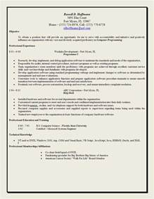 Simple Resume Objective Statements by Exle Objective Statement Resume