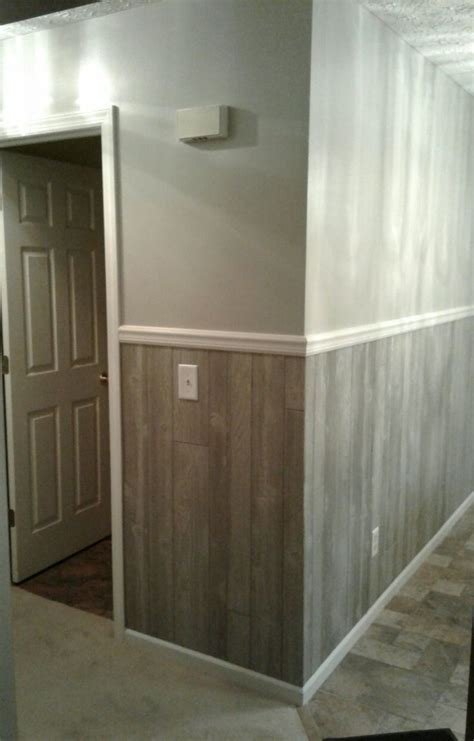 half wall wood paneling best 25 wood paneling makeover ideas on pinterest paint