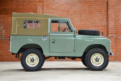1961 land rover series ii 88 lhd for sale land rover