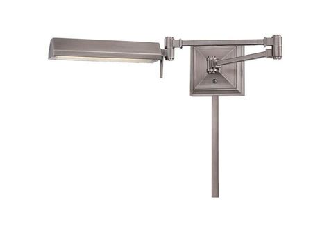 arms reach swing wac lighting bl 1527 an antique nickel hemmingway 27