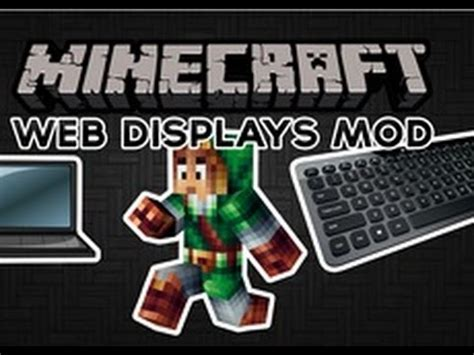 web mod game online minecraft web displays mod access the internet in game