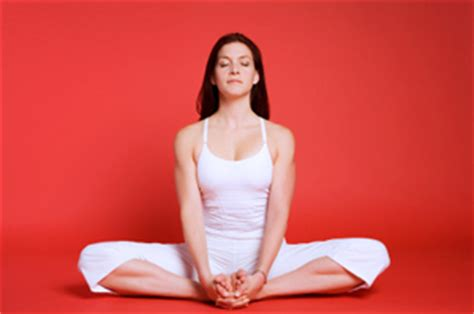 Bag Chairs How To Do Bound Angle Pose In Yoga