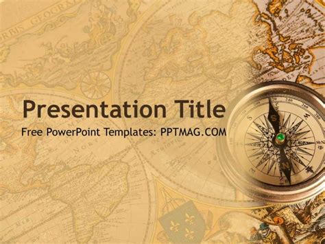 Free History Powerpoint Template Pptmag World War 2 Powerpoint Template