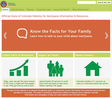 coprevent state launches new website to answer common questions about marijuana