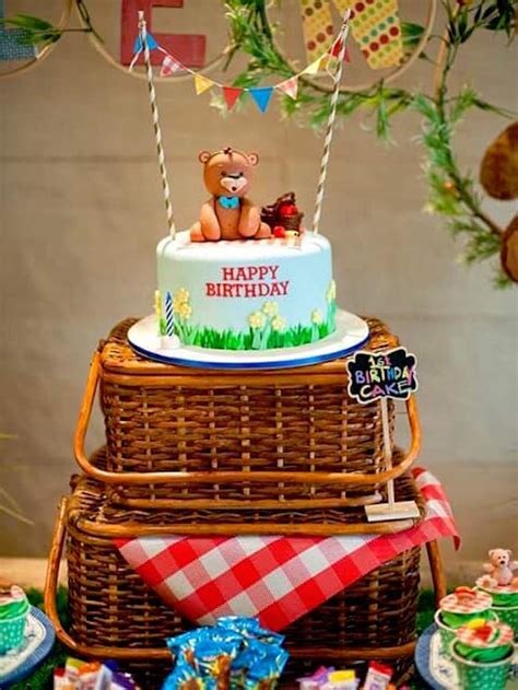 Karas Party  Ee  Ideas Ee   Teddy Bear Picnic  Ee  Birthday Ee   Party Kara