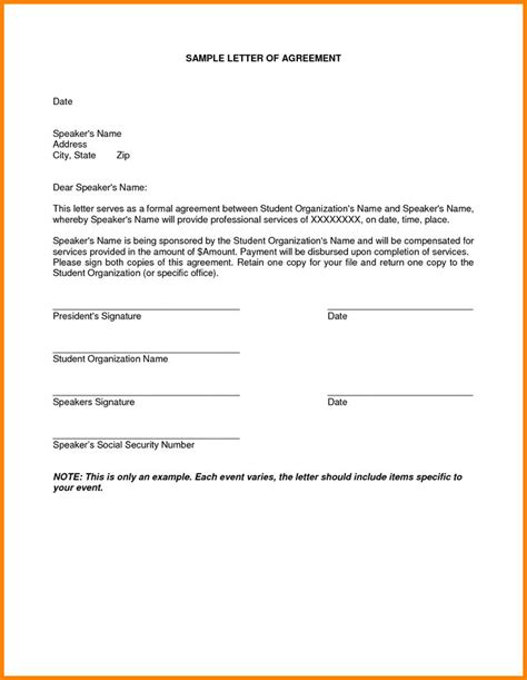 o m agreement template 7 best two weeks notice letter images on free