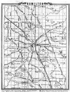 maps of hamilton county il