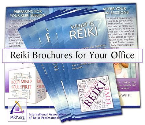 Iarp Reiki Memberships Compare Community And Professional Memberships Free Reiki Brochure Template