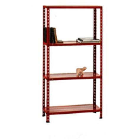 scaffali in kit scaffale metallo in kit 75 x 30 x150 4 piani rosso