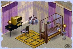 Purple And Gold Bedroom Simsky Sets